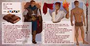 Character sheet wyatt by hazumonster