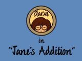 Jane's Addition
