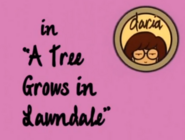 Treegrowsinlawndale