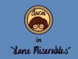 Lane Miserables