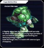 Ancient Barrage card