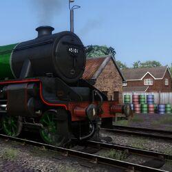 Dark Railway locomotives