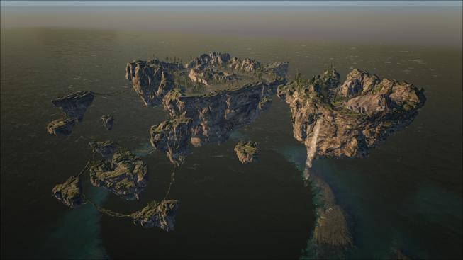 Archos's Lofty Floating Island
