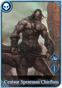 Icon centaur spearman chieftain card.png