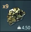 Copper Ore inventory icon