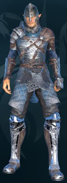 copper armor.