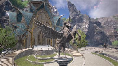 Estal City Pegasus Statue.png