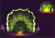 Moon Flower Palace - Door (Close/Open)