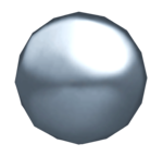 Silver Ball render