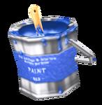 Paint (Blue) render