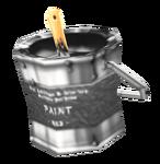 Paint (Black) render