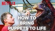 The Dark Crystal Puppeteers Chat About How They Bring Puppets To Life Netflix