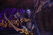 SkekSo draws his sword