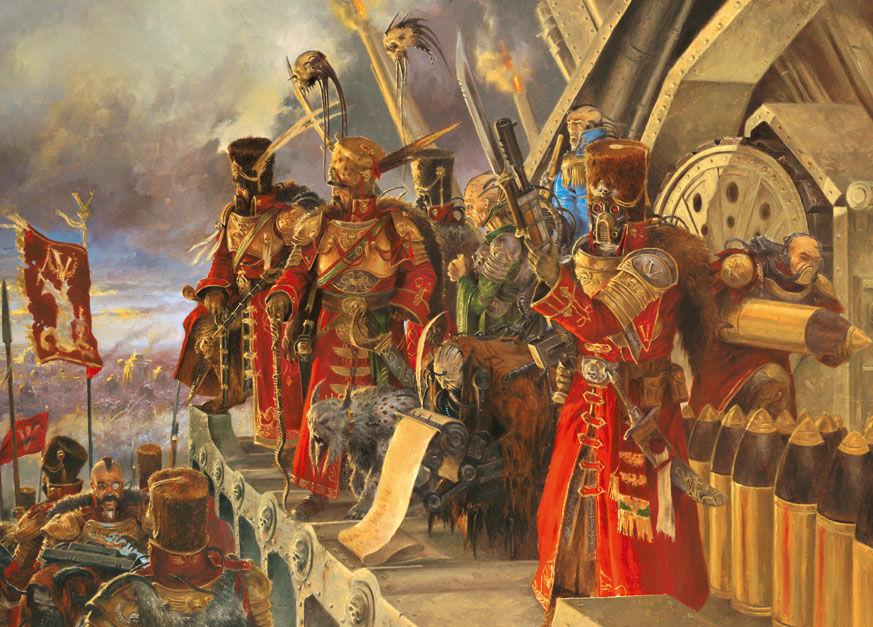 Imperial Guard at war