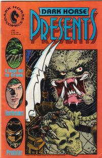 Predator on the cover of Dark Horse Presents #35