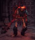 Темный скелет-сокрушитель