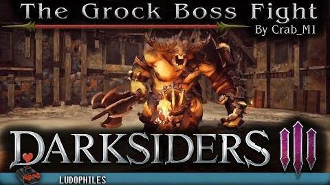 Darksiders III - The Grock Boss Fight