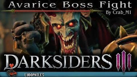 Darksiders III - Avarice Boss Fight