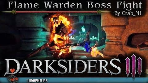 Darksiders III - Flame Warden Boss Fight