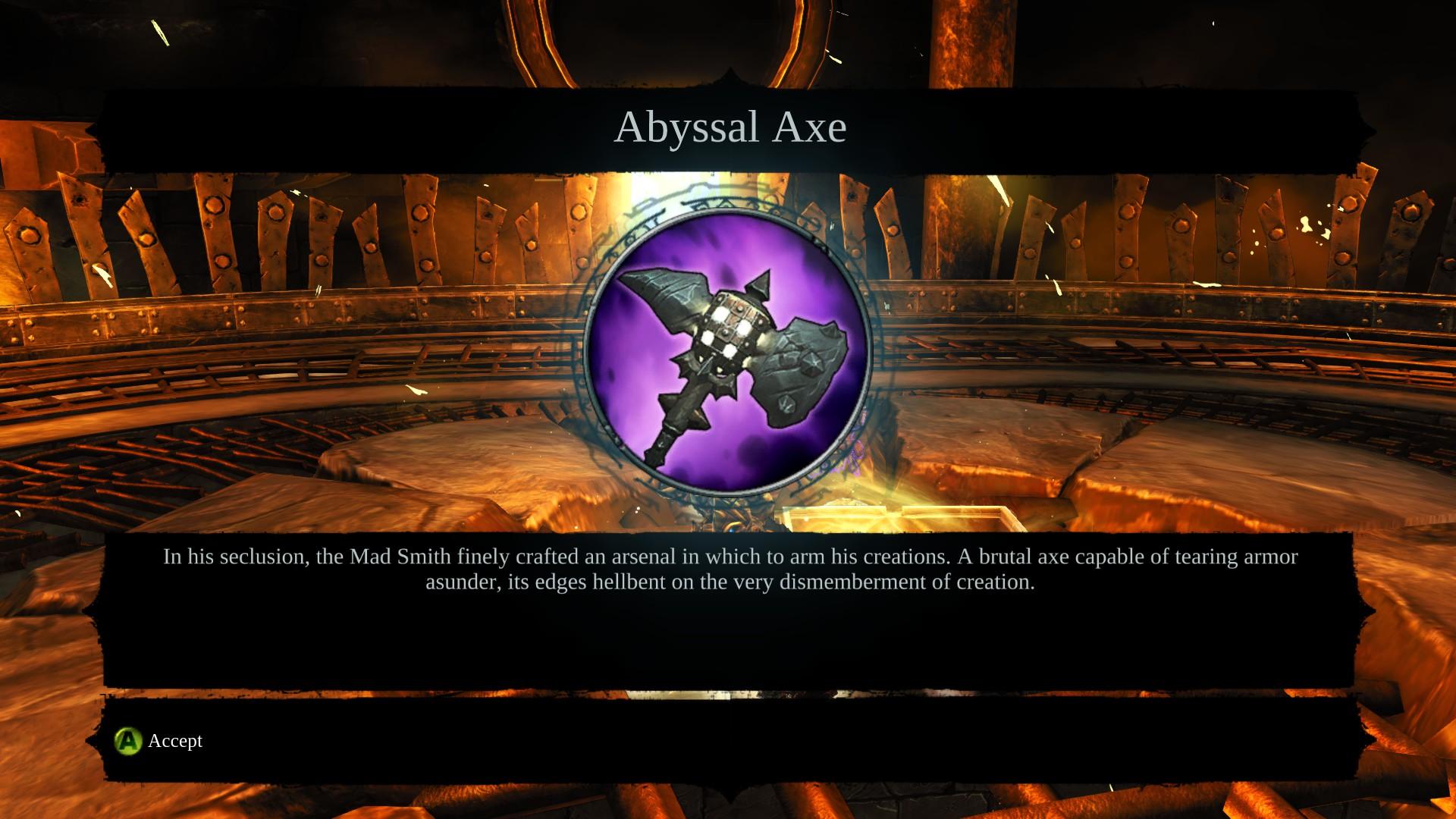 Abyssal Axe