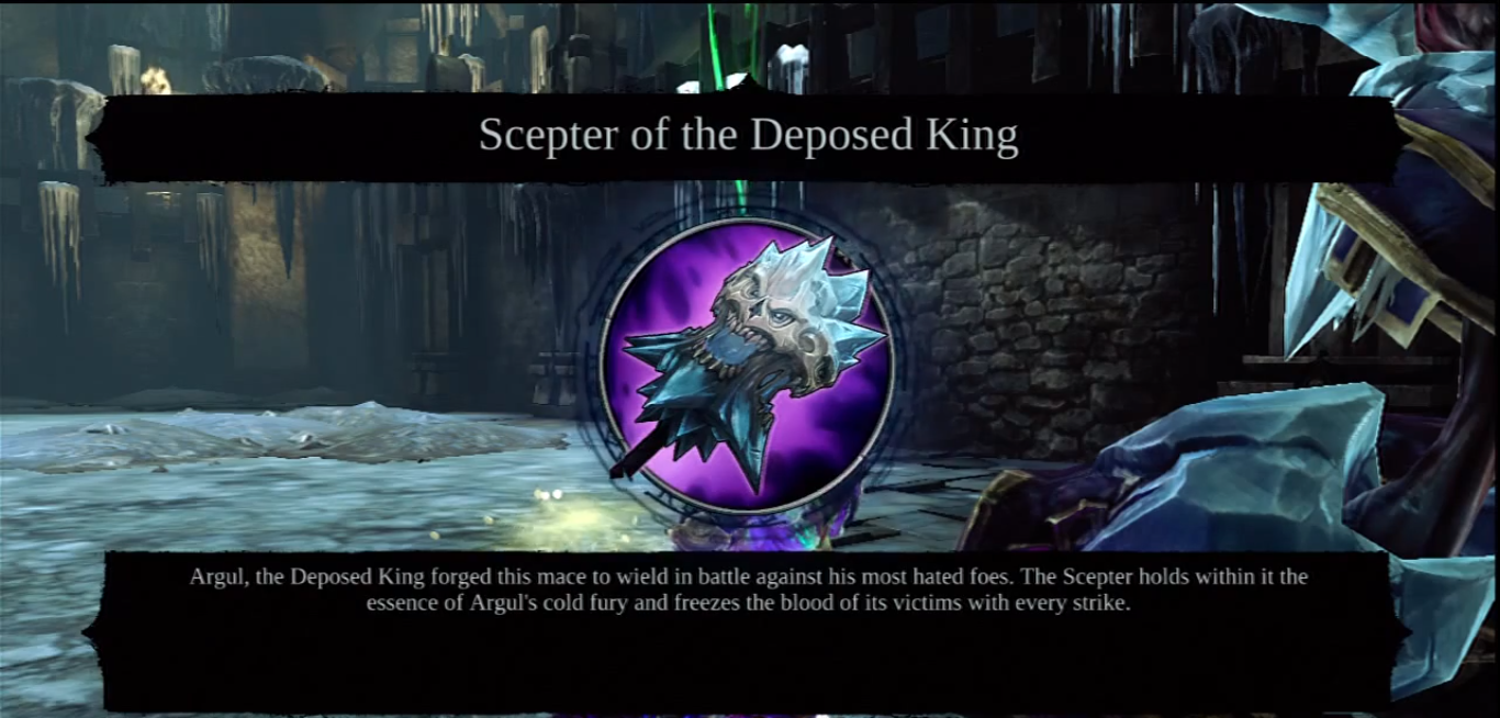 Scepter of the Deposed King