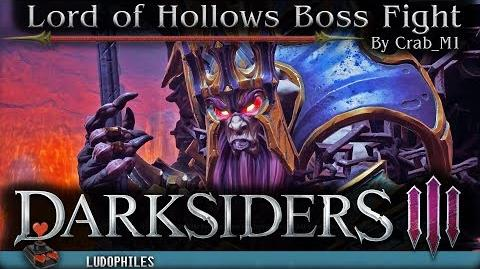 Darksiders III - The Lord of the Hollows Boss Fight