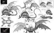 Разверстый дракон концептарт