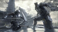 Iudex Gundyr battles player to test their worth-noscale