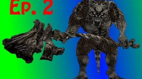 Dark Souls - Undead Burg Walkthrough Taurus Demon Boss!