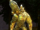 Золотой Кристальный Голем