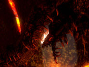 Centipede demon face
