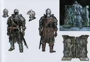 Высокомерный рыцарь арт