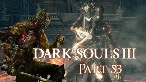 Prince Lothric & Lorian - Dark Souls 3 BLIND Part 53 - Let's Play Hard