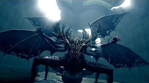 Dark Souls Gaping Dragon Разверстый Дракон - отрубаем хвост и забираем ключ от Чумного Города