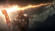 Gywn using sunlight spear