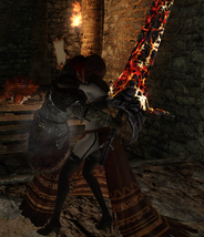 Desert Sorceress Grab Attack