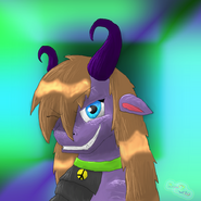 Spyra head shot by dawnszero-d4b21p4