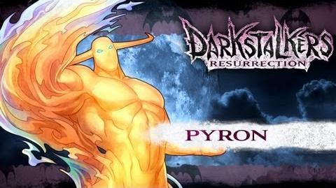 Darkstalkers Resurrection - Pyron