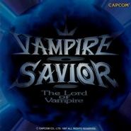 Vampire Savior Lord of Vampire Capcom Game Soundtrack Front