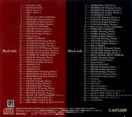 Vampire Savior Lord of Vampire Capcom Game Soundtrack Back