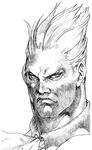Demitri Vampire Savior sketch