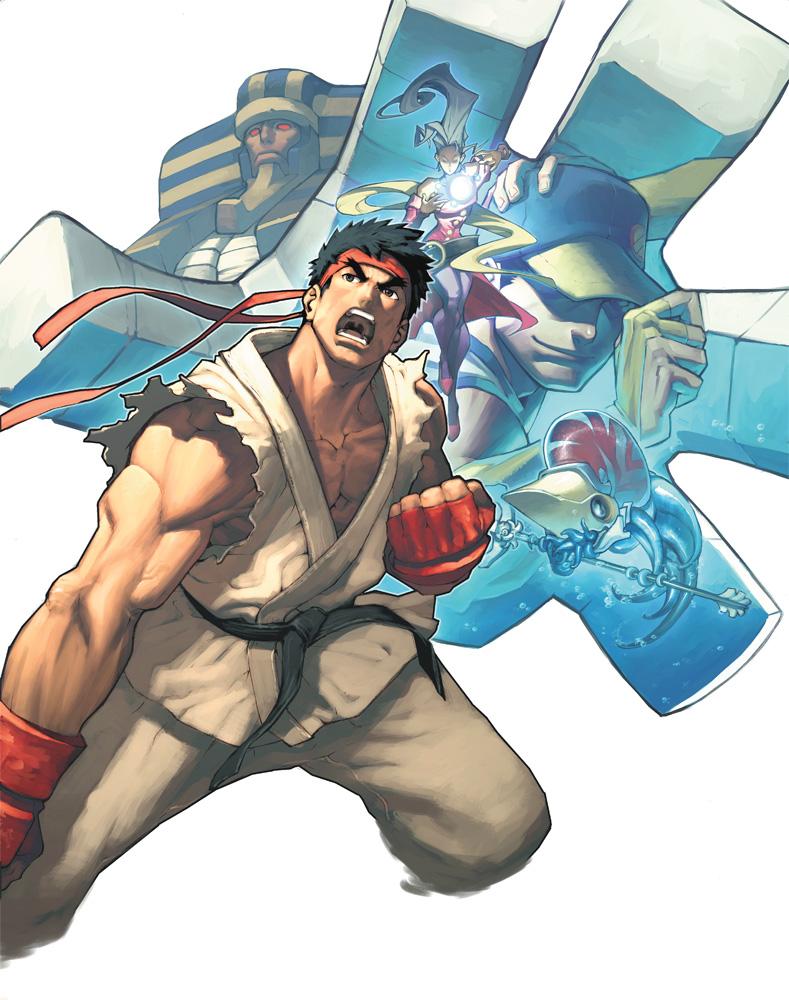 Capcom Fighting Evolution Anakaris group shot.png