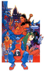 Night Warriors group artwork 03
