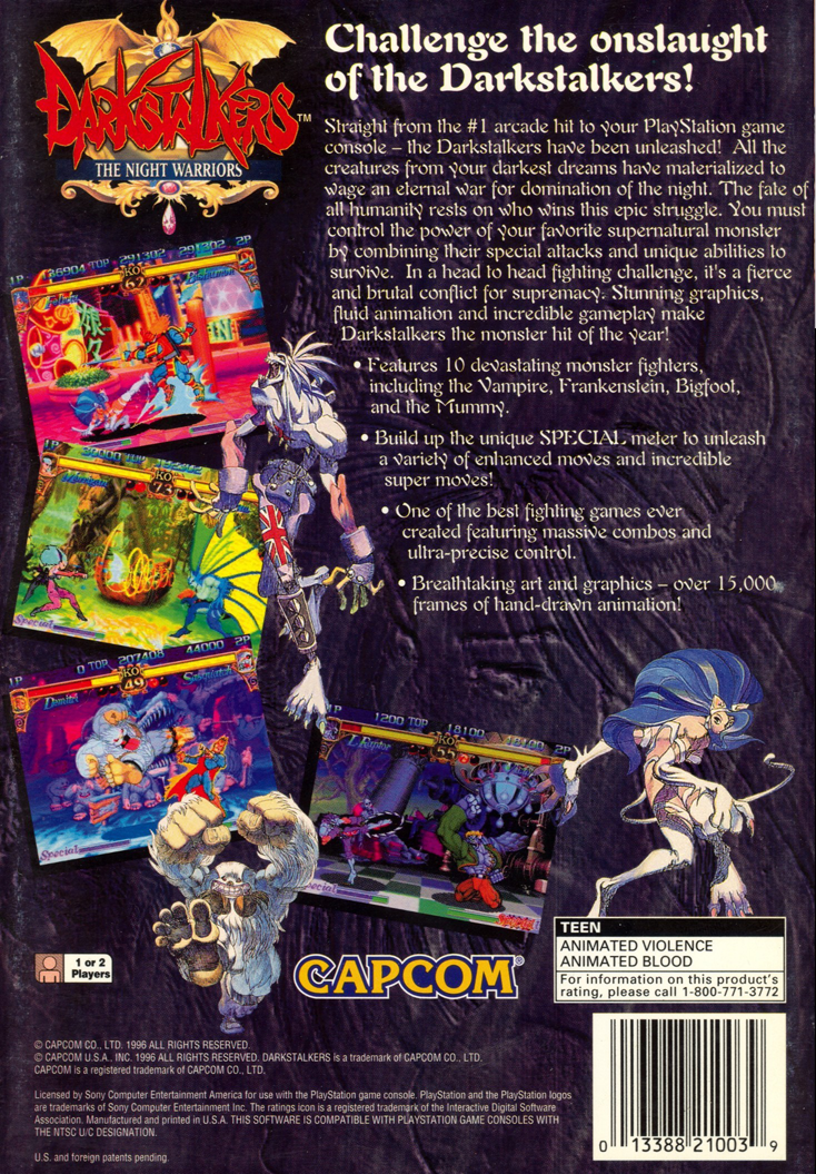 Darkstalkers The Night Warriors Ps1 Back.png