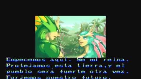 Darkstalkers The Night Warriors - Rikuo Ending Español