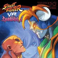 street fighter vs darkstalkers poster