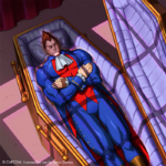 Demitri Maximoff 50 years in a casket by Kevin Libranda
