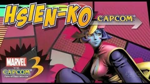 Marvel vs Capcom 3 Hsien-ko Reveal Trailer