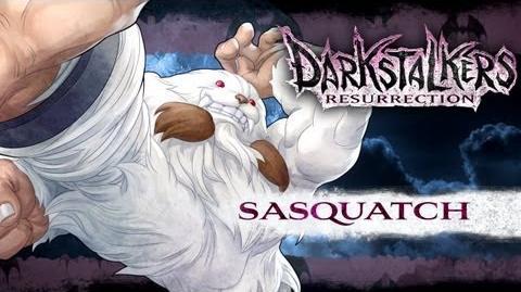 Darkstalkers Resurrection - Sasquatch