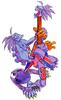Night Warriors Darkstalkers Revenge Lord Raptor 02